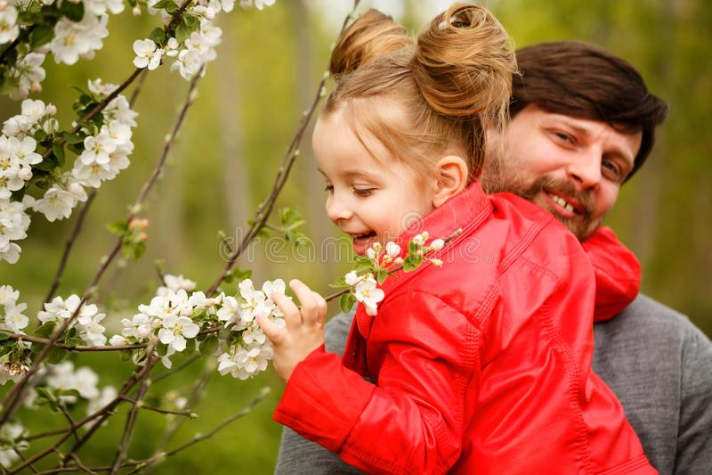familj Fader och dotter royaltyfri fotografi