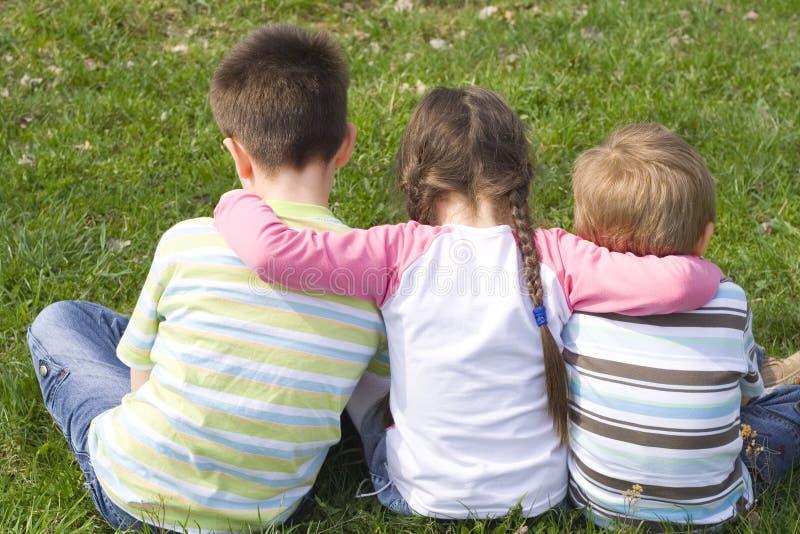 familj little arkivbild