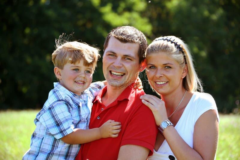 familjbarn royaltyfria bilder