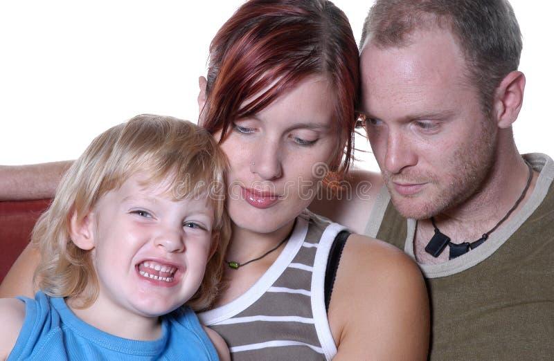 familjiv-stående royaltyfri bild