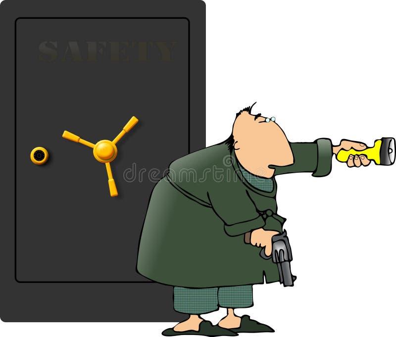 familjjuvelskydd vektor illustrationer