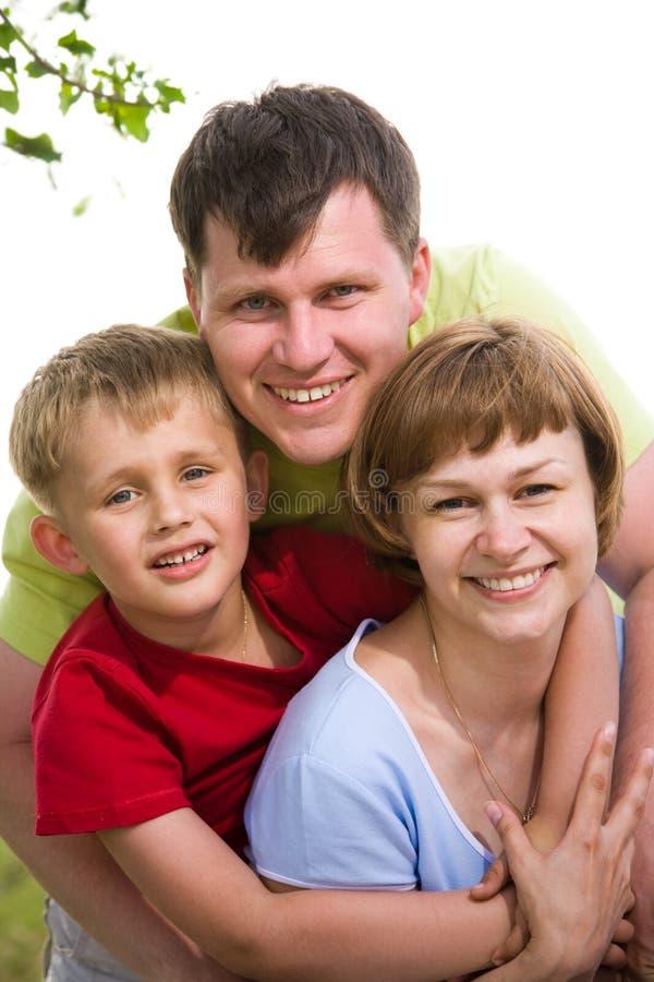 familjlivsstilstående royaltyfri bild