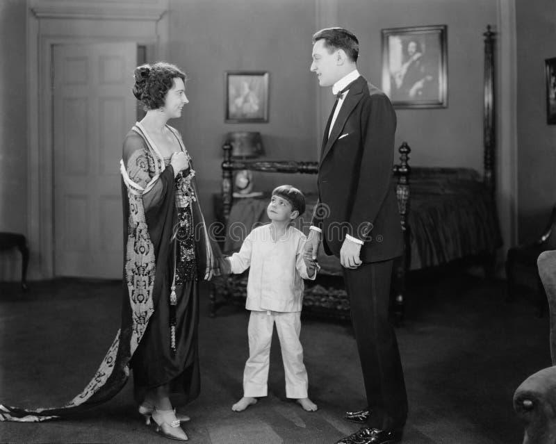 FAMILJMÖTE (alla visade personer inte är längre uppehälle, och inget gods finns Leverantörgarantier att det inte ska finnas någon arkivfoto