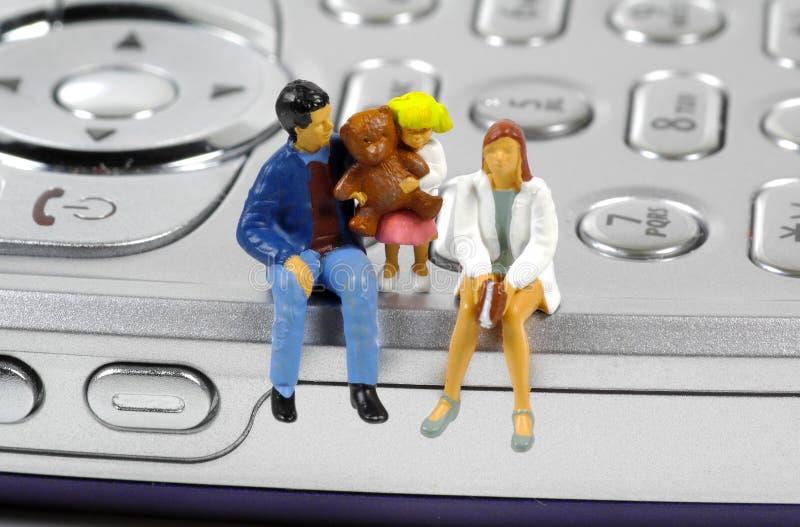 familjplanshare arkivfoton