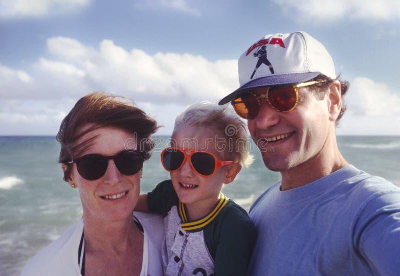 familjsemester royaltyfri fotografi