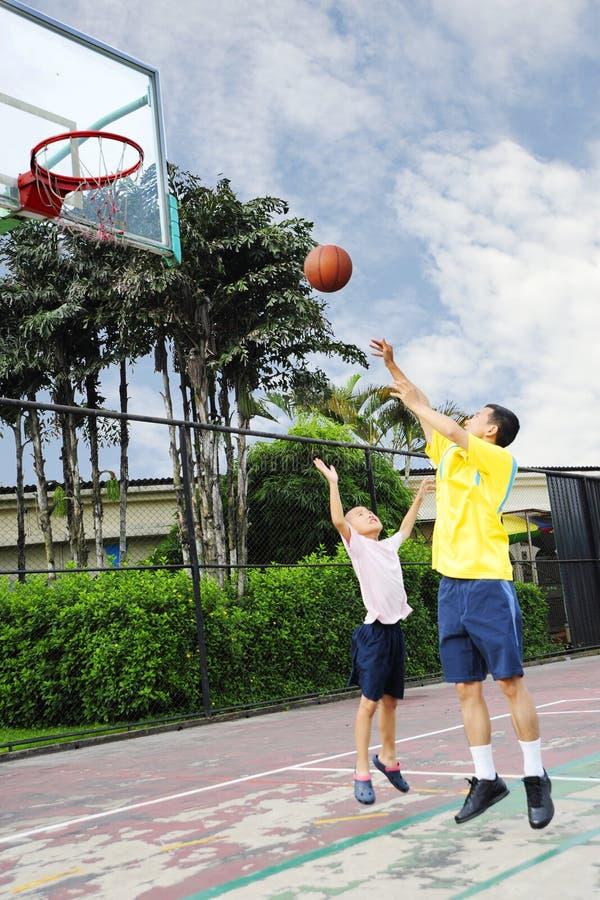 familjsport royaltyfri foto