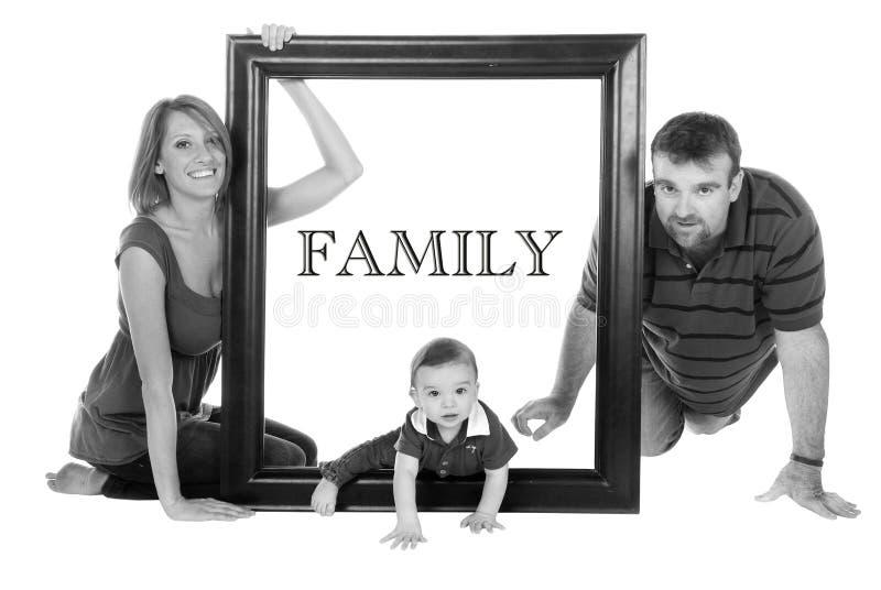 familjstående arkivbilder