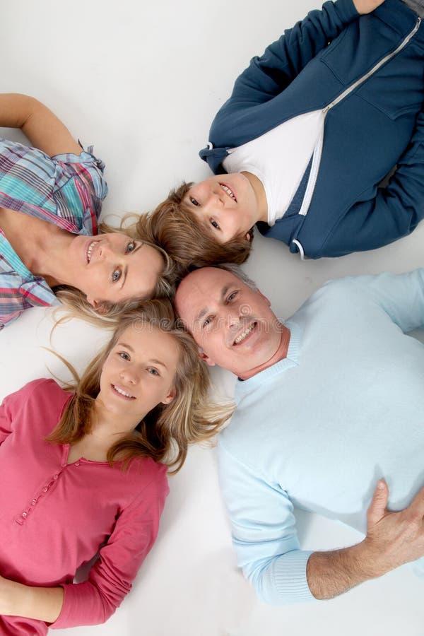 Familjstjärna fotografering för bildbyråer
