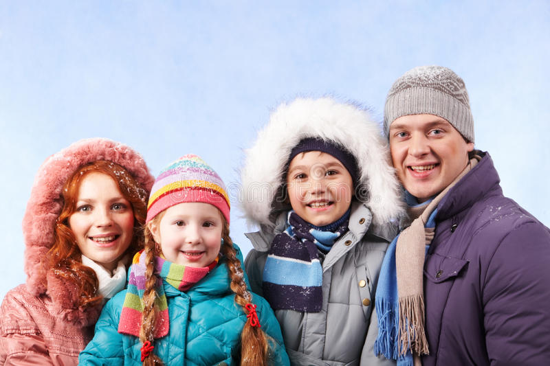 Famille photographie stock