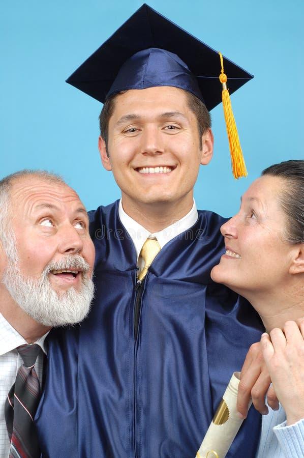 Famille affectueuse photos libres de droits