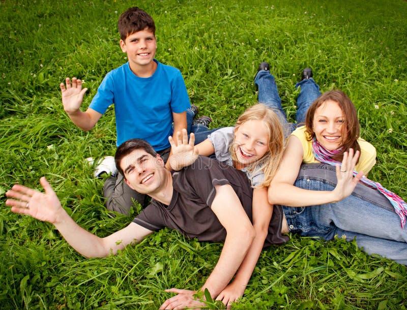 Famille-amusement 19 images libres de droits
