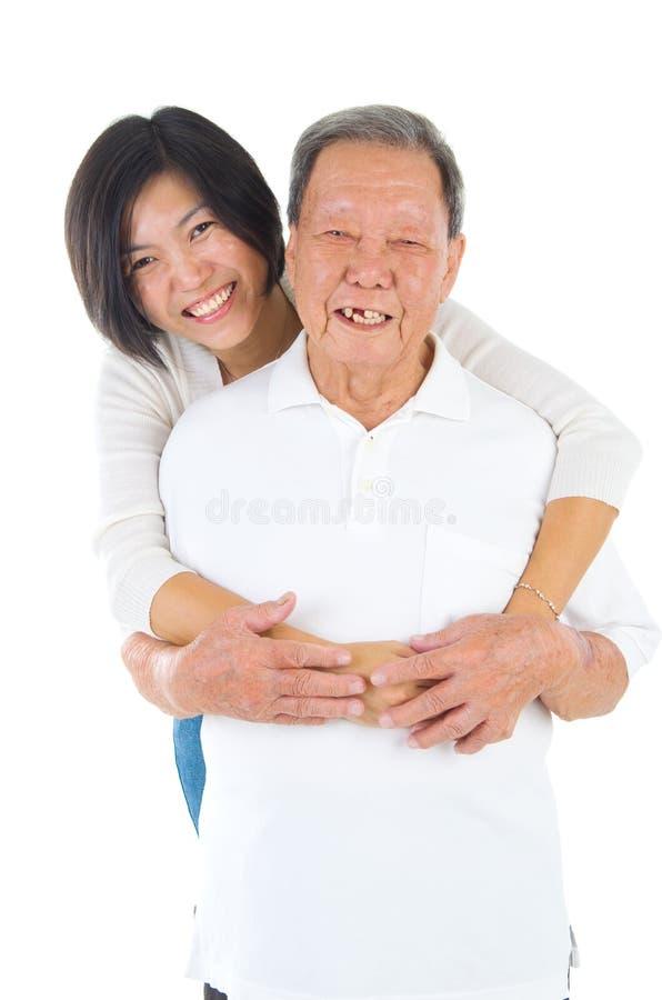famille asiatique photo stock