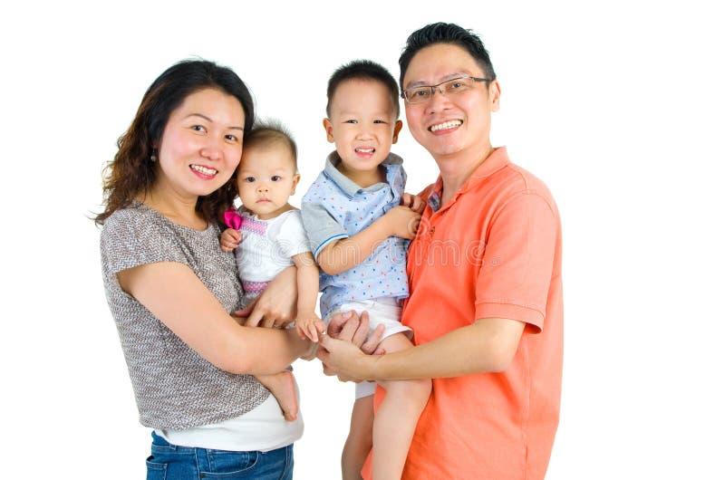 famille asiatique image stock