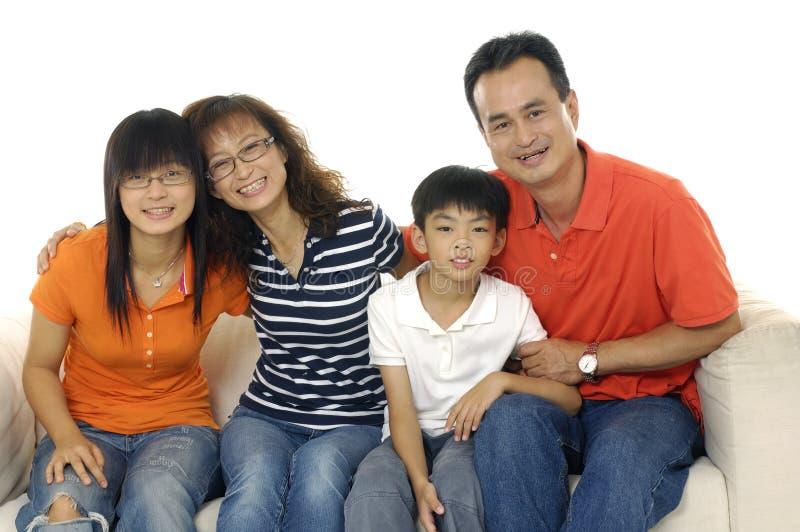 Download Famille asiatique photo stock. Image du père, indoors - 8669610