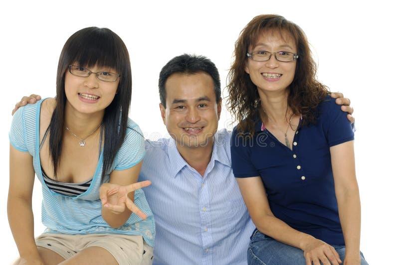 Download Famille asiatique image stock. Image du fille, joie, main - 8669765