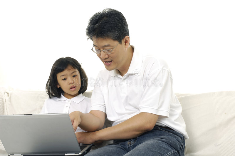 Download Famille asiatique photo stock. Image du amour, lifestyle - 8670618