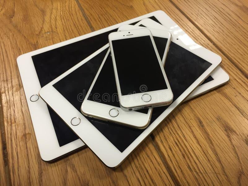 Famille d'Apple photos stock