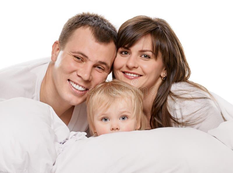 Famille de bonheur photos libres de droits