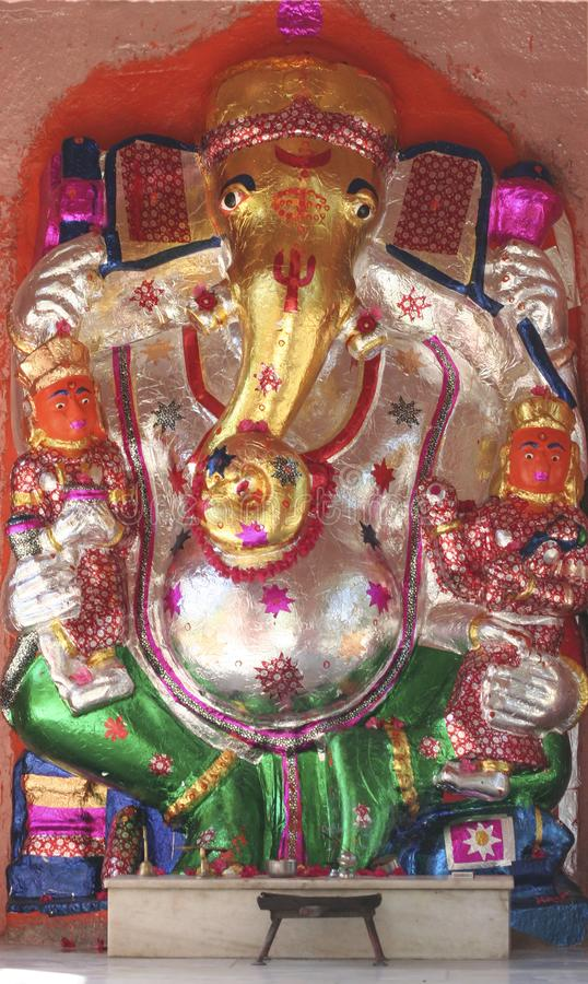 Famille de Ganesha photographie stock libre de droits