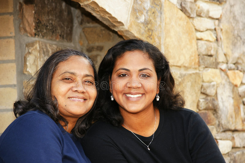 Famille de minorité photos libres de droits