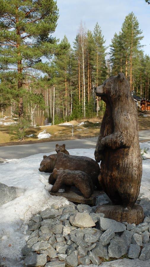 Famille des ours images libres de droits