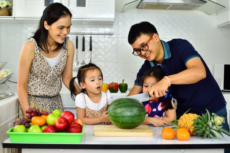 Famille en bonne santé photo libre de droits