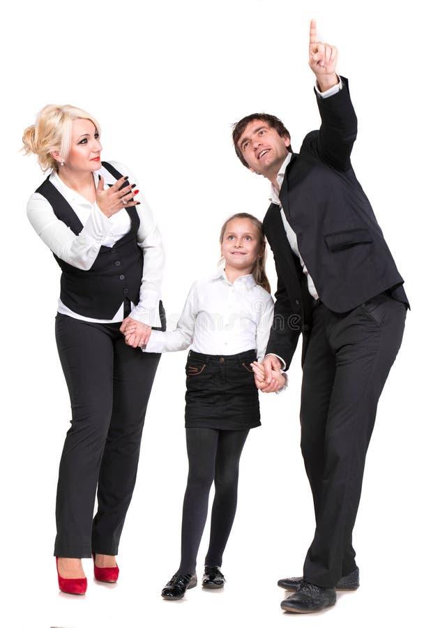 Famille heureuse photos libres de droits