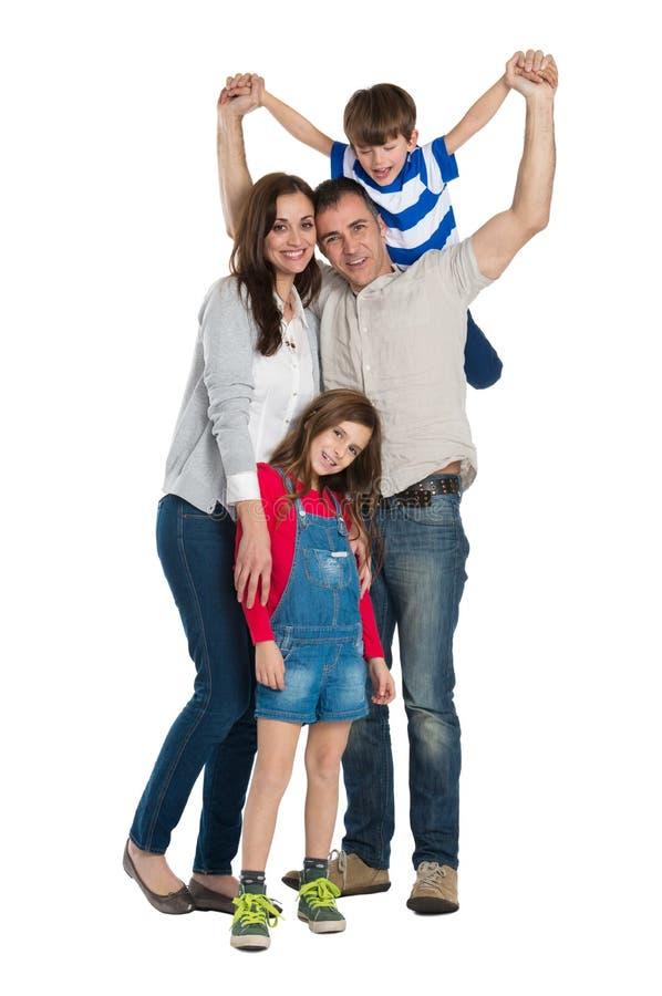 Famille heureuse photos stock