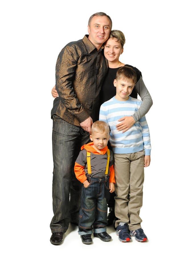 Famille heureux. photographie stock libre de droits