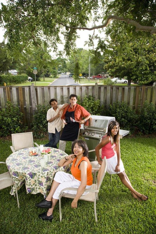 famille interracial photo stock