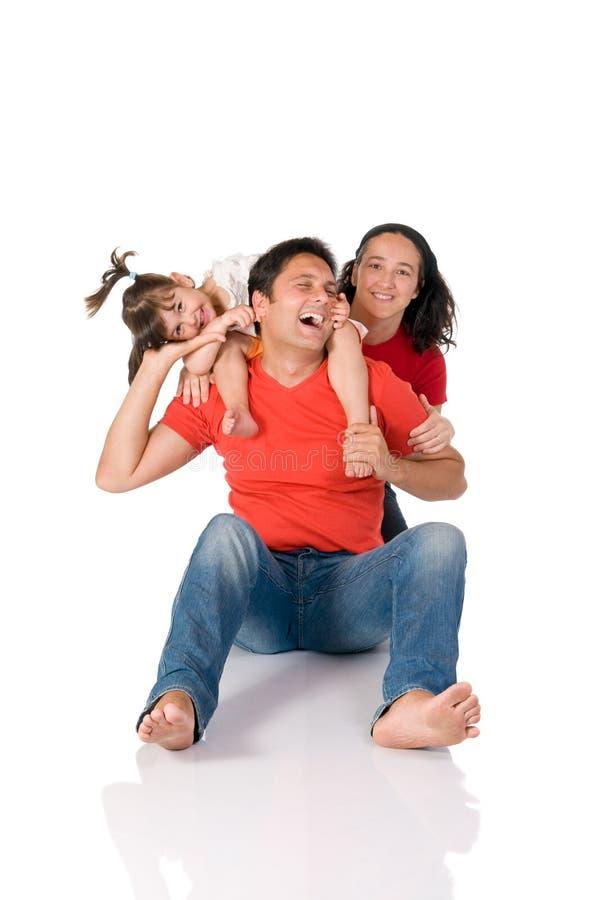 famille joyeux images stock