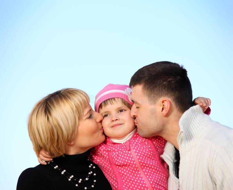 Famille parfaite photo libre de droits