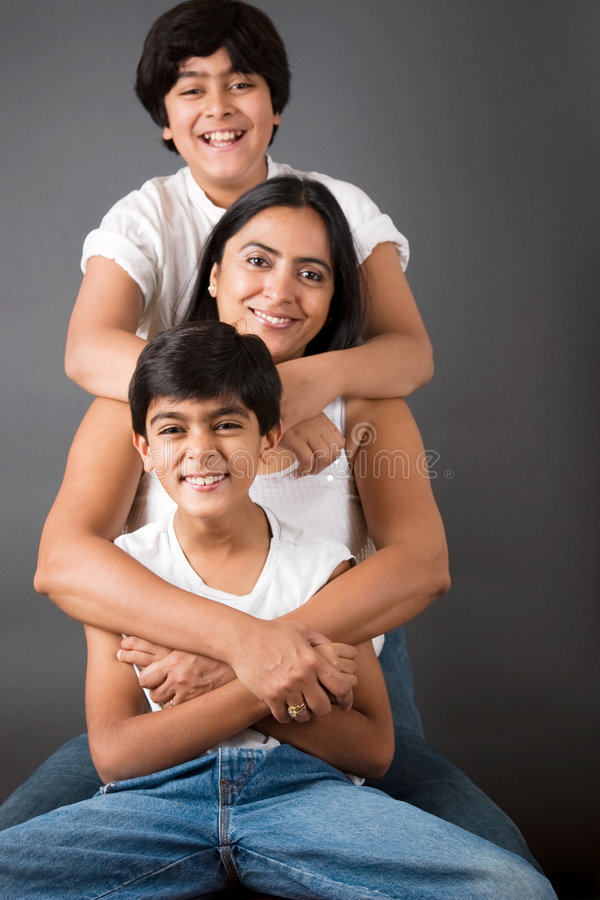 Famille parfaite photos libres de droits