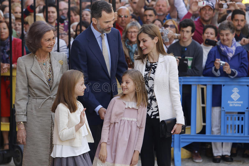 famille royale 016 images stock
