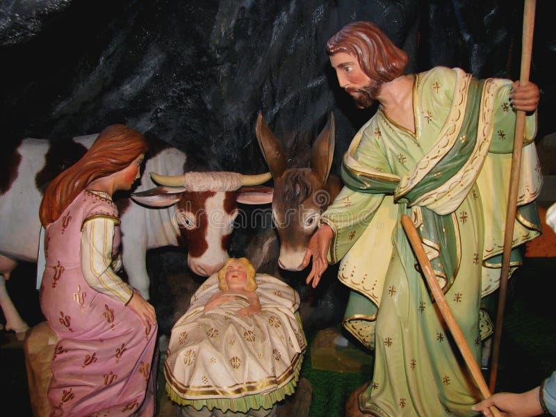 Famille sainte à Bethlehem photographie stock libre de droits