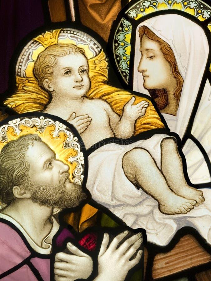 Famille sainte photo libre de droits