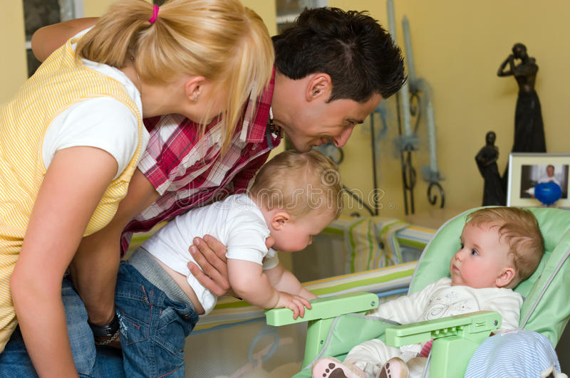 Download Family stock image. Image of infants, male, white, babies - 15954129