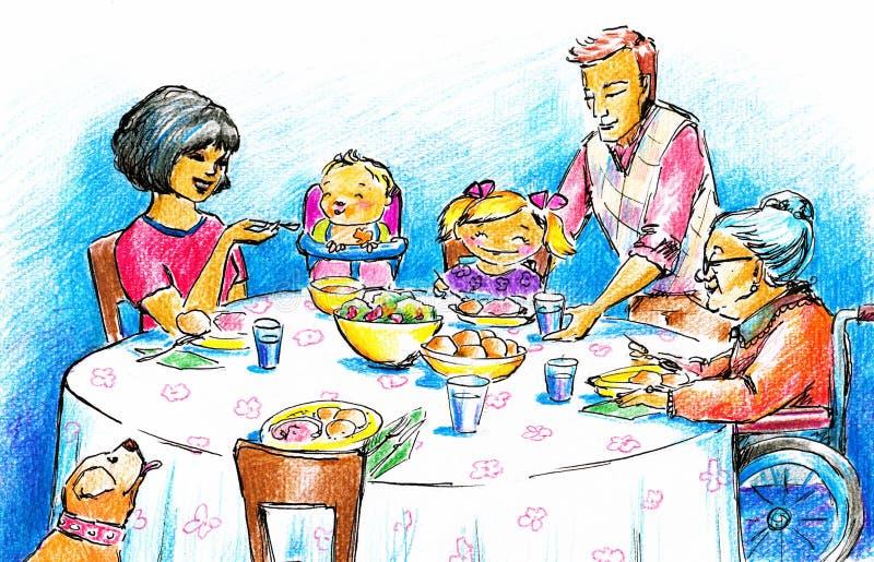 Family royalty free illustration