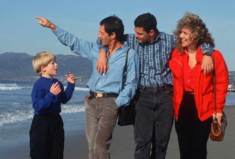 Family Editorial Stock Photo