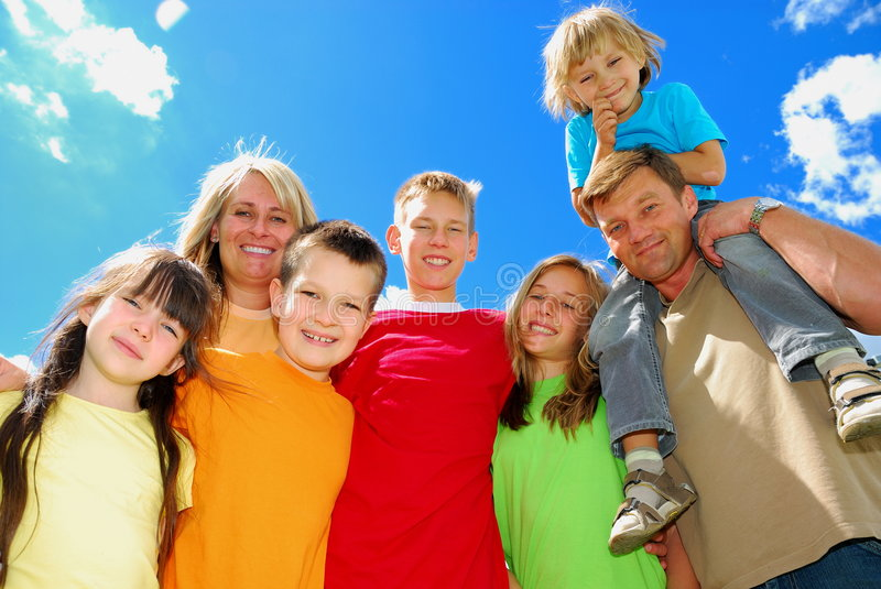 Download Family stock photo. Image of grinning, happiness, blond - 3013122