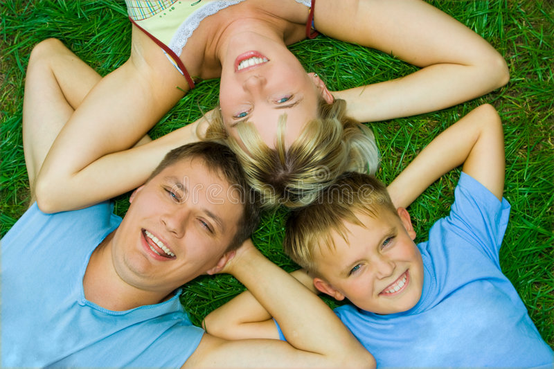 Download Family stock photo. Image of ground, funny, relax, father - 3691014