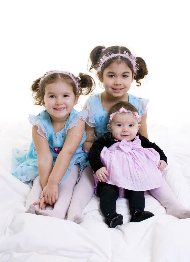 Family. Happy children smiling. Bonding, Love, marriage, childhood stock photo