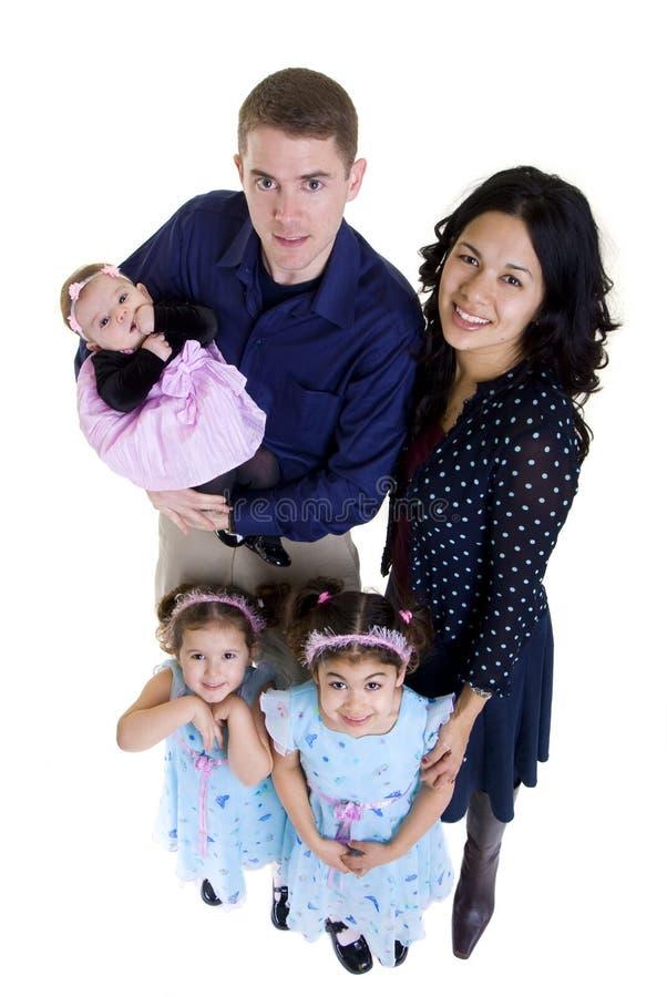 Family. A happy family. Bonding, Love, marriage, children royalty free stock photo