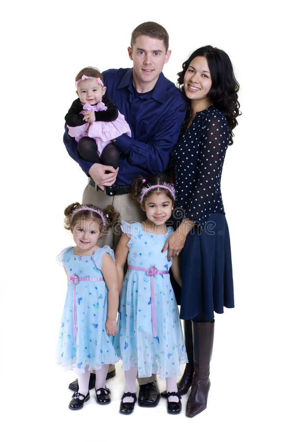 Family. A happy family. Bonding, Love, marriage, children royalty free stock photography