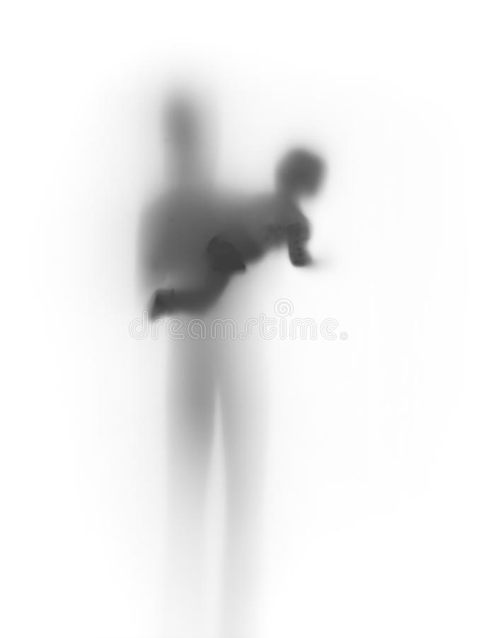 Download Family Abstract, Baby, Parent Together, Silhouette Royalty Free Stock Photos - Image: 24232318