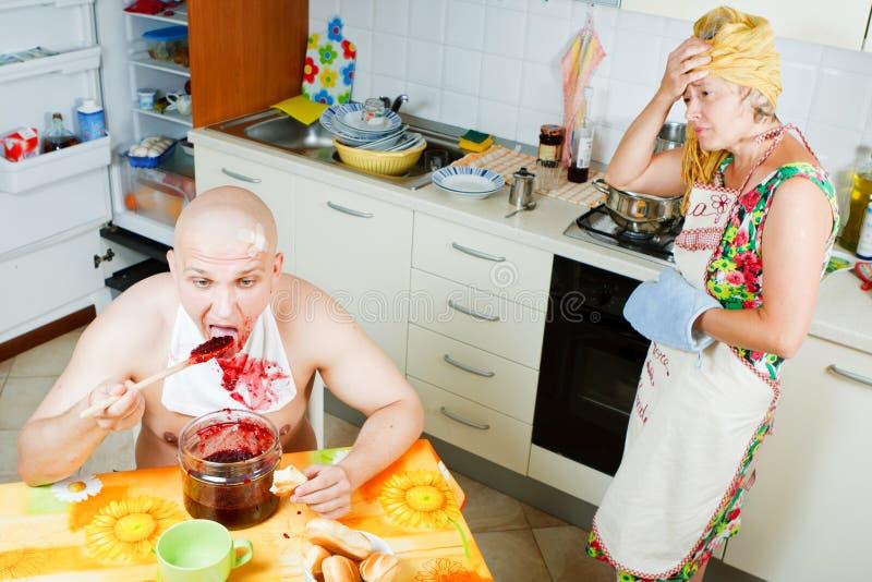 Family affair stock photo