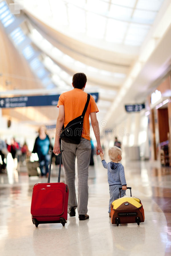 Download Family in the airport stock photo. Image of building - 20729776