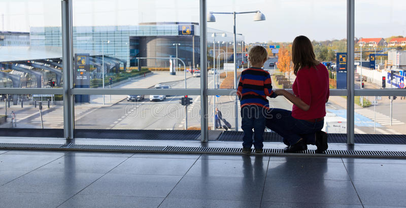 Download Family in the airport stock photo. Image of departure - 29153220