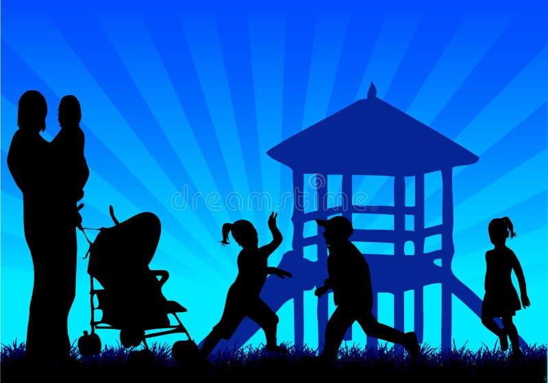 Family Background Stock Photos