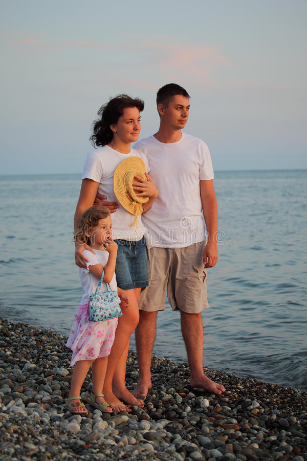 Download Family on beach stock image. Image of caucasian, people - 10699015